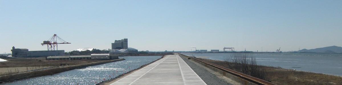 海岸堤防補強工事